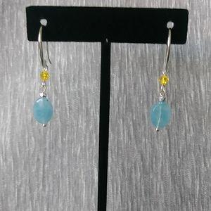Aquastone Earrings